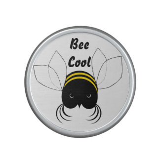 Get Buzzin, Cute crazy Bee Bluetooth Speaker
