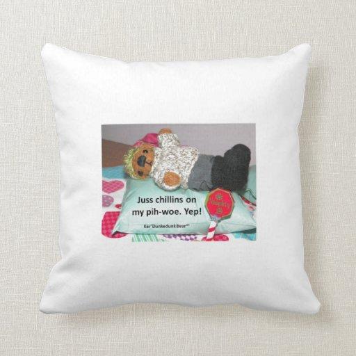Big Comfortable Throw Pillows : Get comfy with Ker D! Throw Pillows Zazzle