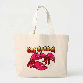 Get Crabs! Canvas Bags