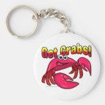 Get Crabs! Keychain