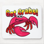 Get Crabs! Mouse Pad