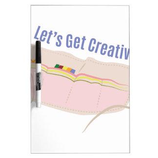 Get Creative Dry-Erase Board