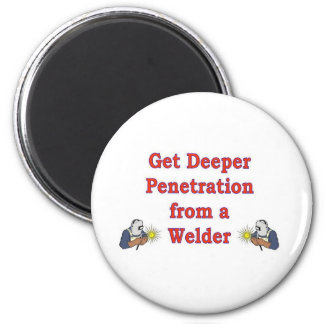 GET DEEPER PENETRATION 2 INCH ROUND MAGNET