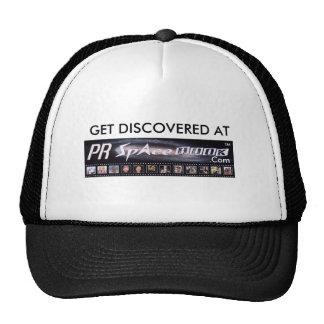 GET DISCOVERED AT PRSpaceBook.Com Trucker Hat