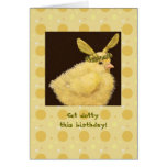 Get dotty this birthday card