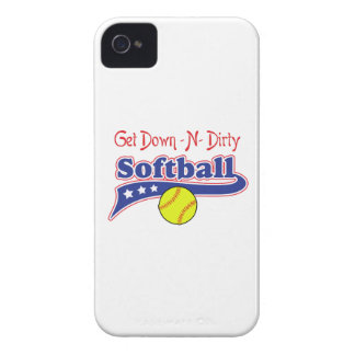 GET DOWN N DIRTY iPhone 4 CASE