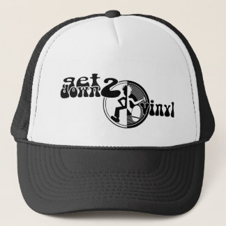 Get down to vinyl graphic hat