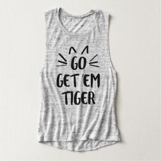 Get 'Em Tiger Tank Top