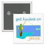 Get enganchó en el pescador de Jesús Pins