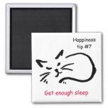 get enough sleep fridge magnet