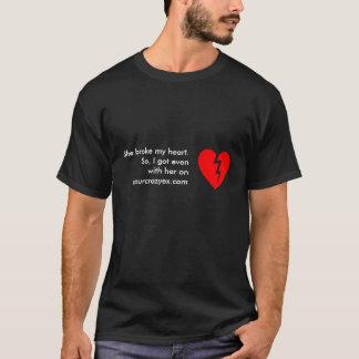 Get Even with Heart Logo T-Shirt