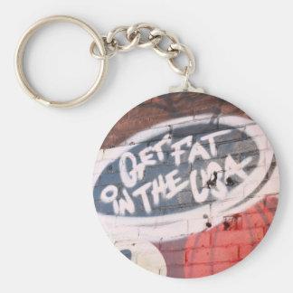 Get Fat Keychain