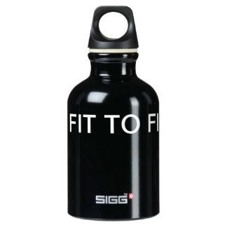 GET FIT Black Water Bottle