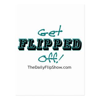 Get Flipped Off! Postcard