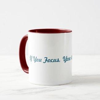 Get Focus #TeaTime Mug