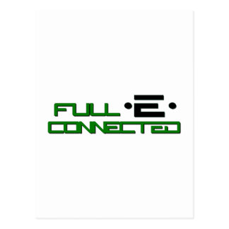 Get Full-E Connected Postcard