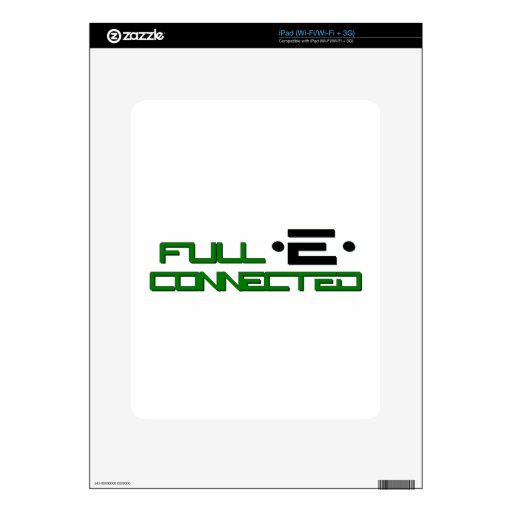 Get Full-E Connected Skin For The iPad