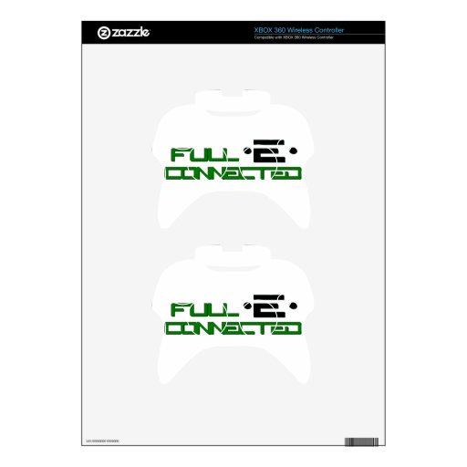 Get Full-E Connected Xbox 360 Controller Skins
