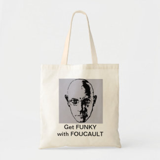 Get FUNKY with FOUCAULT Tote Bag