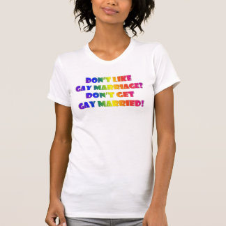 Get Gay Married Deluxe T-shirts