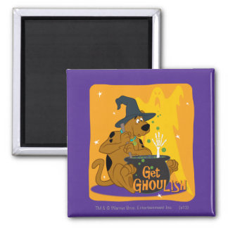 Get Ghoulish 2 Inch Square Magnet