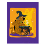 Get Ghoulish Post Card