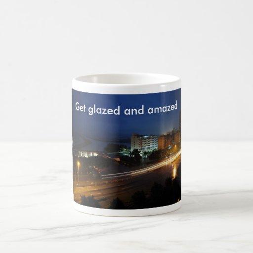 Get glazed and amazed mug