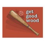 Get Good Wood Postcard