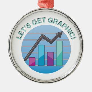 Get Graphic Metal Ornament