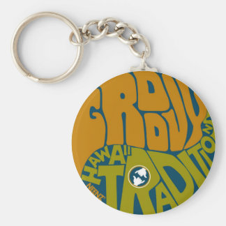 Get Groovy with Hawaii Traditions! Keychains