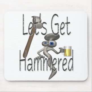get.hammered mousepad