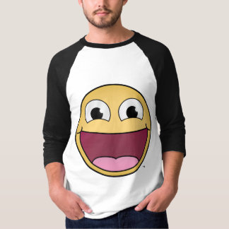 Get Happy! Men's 3/4 Sleeve Shirt
