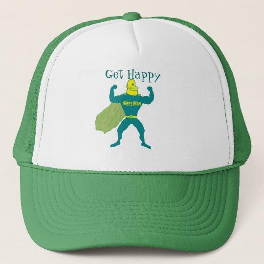 Get Happy Superman Trucker Hat