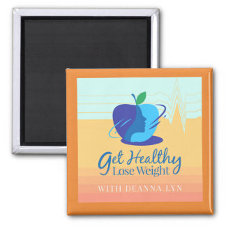 Get Healthy Lose weight podcast fan magnet