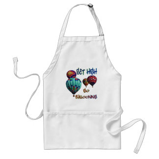 Get High Go Ballooning Adult Apron
