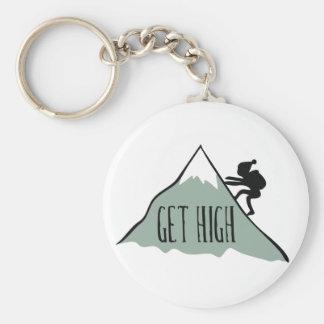 Get High Keychain
