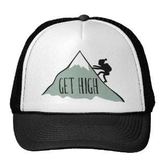 Get High Trucker Hat