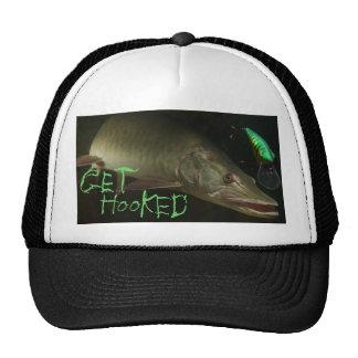 Get Hooked Muskie Trucker Hat