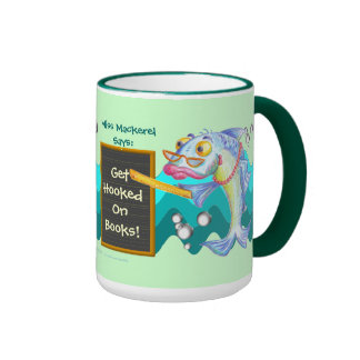 Get Hooked On Books! Coffee Mugs