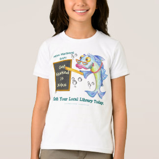 Get Hooked On Books! T-Shirt