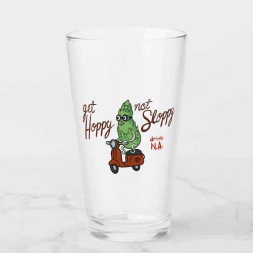 Get Hoppy, Not Sloppy Glass