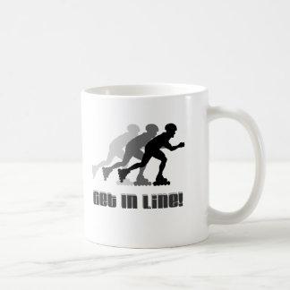 Get in Line Coffee Mug