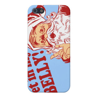 Get in My Belly Funny Christmas iPhone 5 Cover