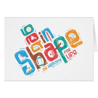Get in Shape Card