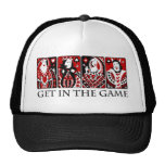Get In The Game Hats