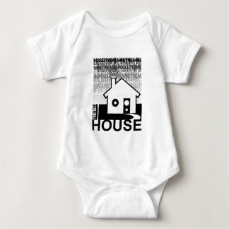 Get in the House Music Baby Bodysuit