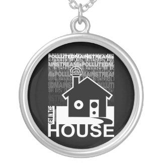 Get in the House Music Necklace