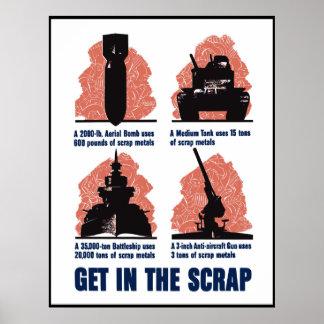 Get In The Scrap -- Border Print