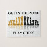 Get In The Zone Play Chess (Reflective Chess Set) Jigsaw Puzzle