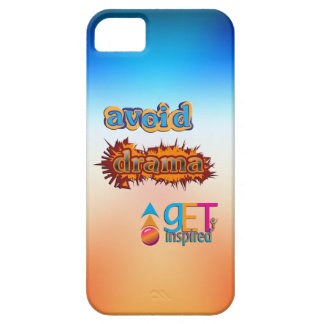 Get Inspired ~ Avoid Drama iPhone 5 Cover